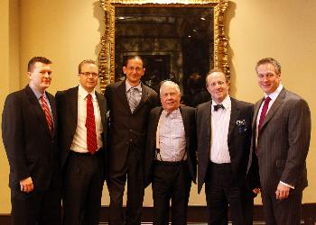 (People in photo from left to right: Johnny Gibson, Martin Bel, Jason Flowers, Jim Rogers, Marc Ross, Chris Cannon)